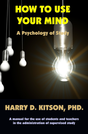 how to use your mind harry kitson pdf