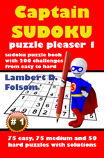 Captain Sudoku Puzzle Pleaser 1