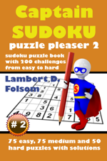 Captain Sudoku Puzzle Pleaser 2
