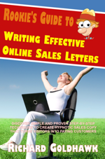 Rookie's Guide to Writing Effective Online Sales Letters